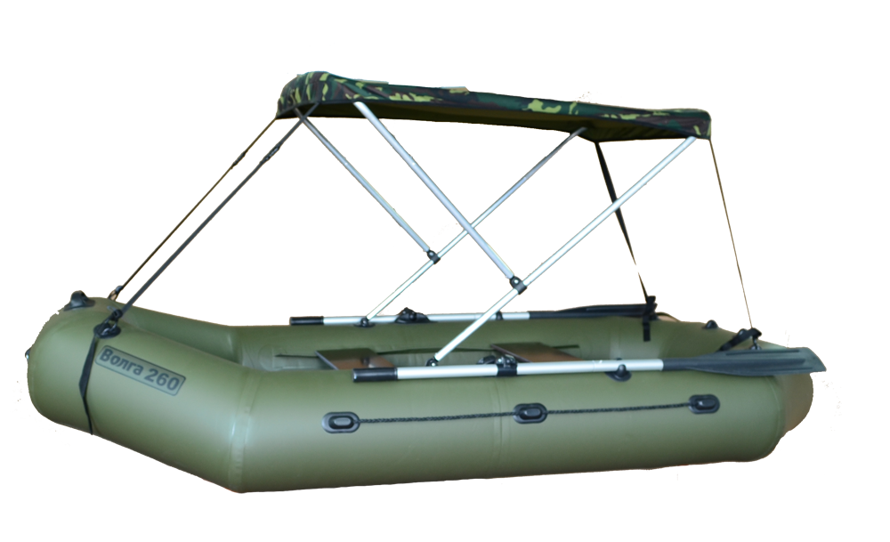 Для чего на лодку нужно делать тент?